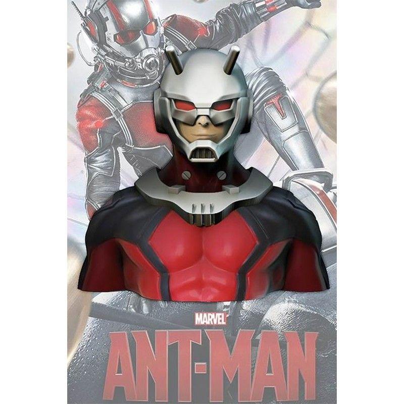 MARVEL ANT-MAN DELUXE BUST BANK SALVADANAIO ANTMAN