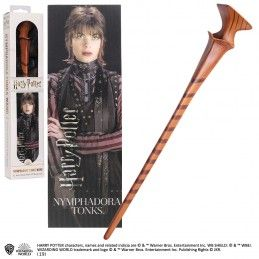 NOBLE COLLECTIONS HARRY POTTER - NYMPHADORA TONKS PVC WAND REPLICA BACCHETTA