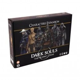 DARK SOULS THE BOARD GAME PERSONAGGI CHARACTERS ESPANSIONE GIOCO DA TAVOLO ITALIANO STEAMFORGED GAMES