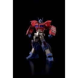FLAME TOYS copy of TRANSFORMERS FURAI ACTION - OPTIMUS PRIME IDW ACTION FIGURE