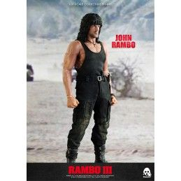 RAMBO III - JOHN RAMBO 1/6 SCALE COLLECTIBLE 30CM ACTION FIGURE THREEZERO