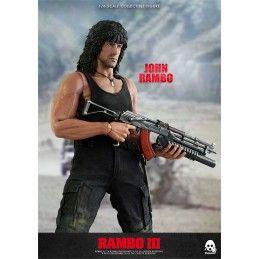 RAMBO III - JOHN RAMBO 1/6 SCALE COLLECTIBLE 30CM ACTION FIGURE THREEZERO