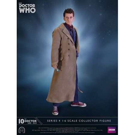 DOCTOR WHO SERIES 4 - 10TH DOCTOR 1/6 SCALE 30CM ACTION FIGURE
