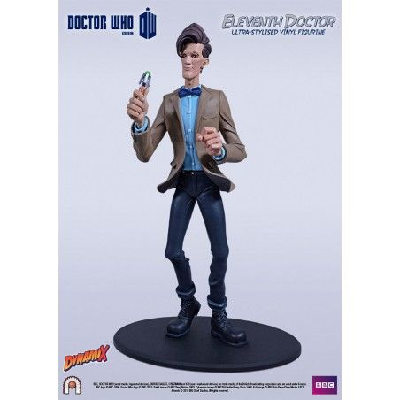 DOCTOR WHO SERIES 5 - 11TH DOCTOR ULTRA STYLISED VINYL FIGURE 25CM STATUE