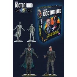 WARLORD GAMES DOCTOR WHO INTO THE TIME VORTEX THE RETURN OF DOCTOR MYSTERIO SET MINIATURES