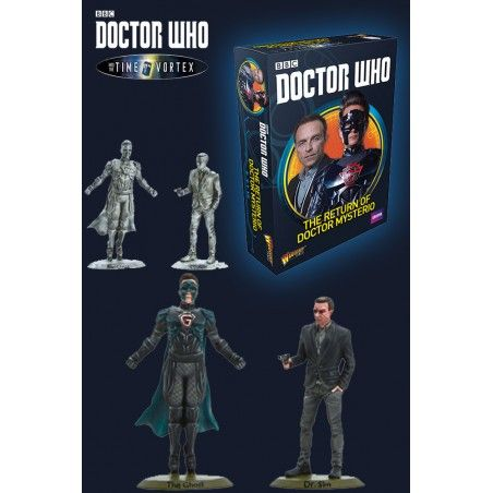 DOCTOR WHO INTO THE TIME VORTEX THE RETURN OF DOCTOR MYSTERIO SET MINIATURES