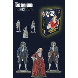DOCTOR WHO INTO THE TIME VORTEX CLOCKWORK DROIDS SET MINIATURES WARLORD GAMES