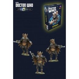 DOCTOR WHO INTO THE TIME VORTEX TETRAPS SET MINIATURES WARLORD GAMES