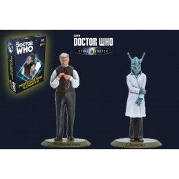 DOCTOR WHO INTO THE TIME VORTEX PROFESSOR YANA AND CHANTHO SET MINIATURES WARLORD GAMES