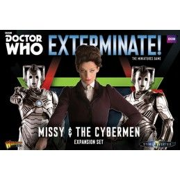 DOCTOR WHO EXTERMINATE! MISSY AND THE CYBERMEN EXPANSION SET MINIATURES