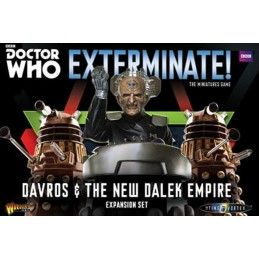 DOCTOR WHO EXTERMINATE! DAVROS AND THE NEW DALEK EMPIRE EXPANSION SET MINIATURES