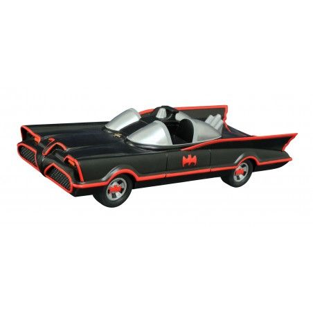 BATMAN 1966 BATMOBILE COIN BANK SALVADANAIO