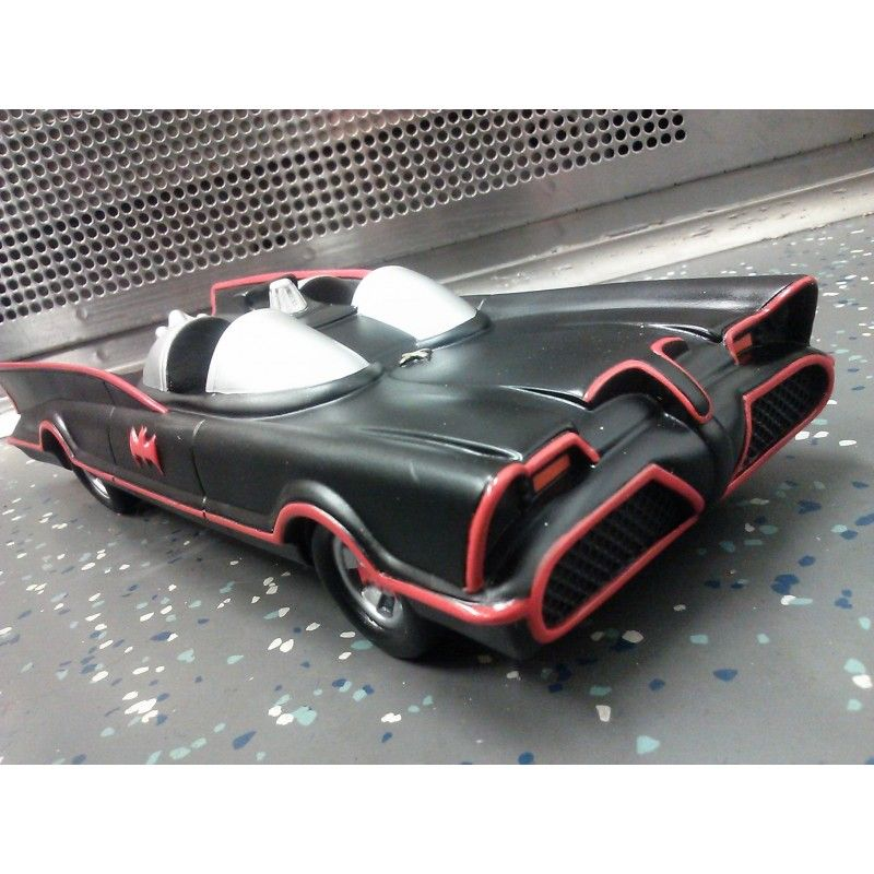 DIAMOND SELECT BATMAN 1966 BATMOBILE COIN BANK SALVADANAIO