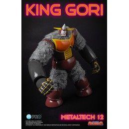 GOLDRAKE UFO ROBOT GRENDIZER - KING GORI METALTECH 12 ACTION FIGURE HIGH DREAM