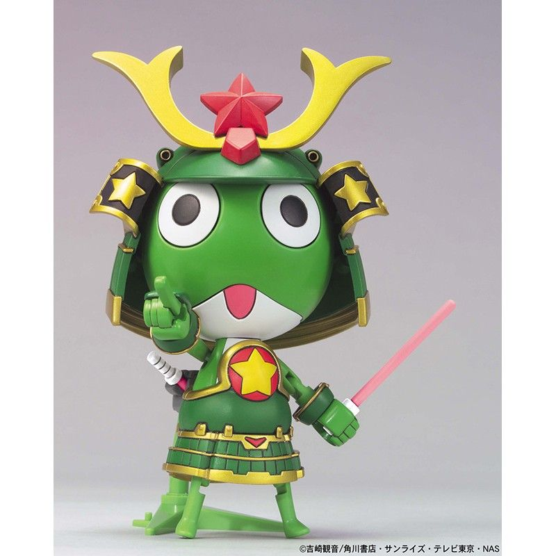 KERORO PLAMO MUSHA KERORO MODEL KIT BANDAI