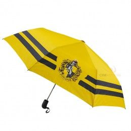HARRY POTTER HUFFLEPUFF OMBRELLO CON LOGO UMBRELLA CINEREPLICAS