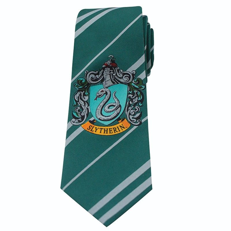 HARRY POTTER SLYTHERIN KIDS NECKTIE CRAVATTA BAMBINO CINEREPLICAS
