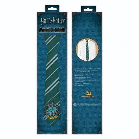 HARRY POTTER SLYTHERIN KIDS NECKTIE CRAVATTA BAMBINO