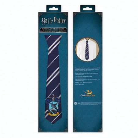 HARRY POTTER RAVENCLAW KIDS NECKTIE CRAVATTA BAMBINO
