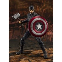 BANDAI AVENGERS ENDGAME CAPTAIN AMERICA FINAL BATTLE S.H. FIGUARTS ACTION FIGURE