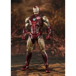BANDAI AVENGERS ENDGAME IRON MAN MARK 85 FINAL BATTLE S.H. FIGUARTS ACTION FIGURE