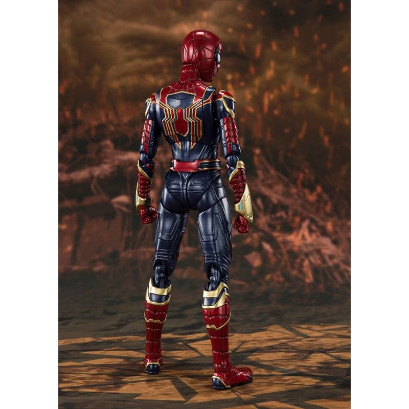 BANDAI AVENGERS ENDGAME IRON SPIDER-MAN FINAL BATTLE S.H. FIGUARTS ACTION FIGURE
