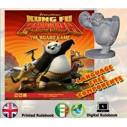 MODIPHIUS ENTERTAINMENT KUNG FU PANDA - THE BOARD GAME GIOCO DA TAVOLO
