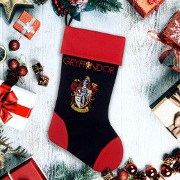 HARRY POTTER GRYFFINDOR CHRISTMAS STOCKING CALZA BEFANA GRIFONDORO CINEREPLICAS