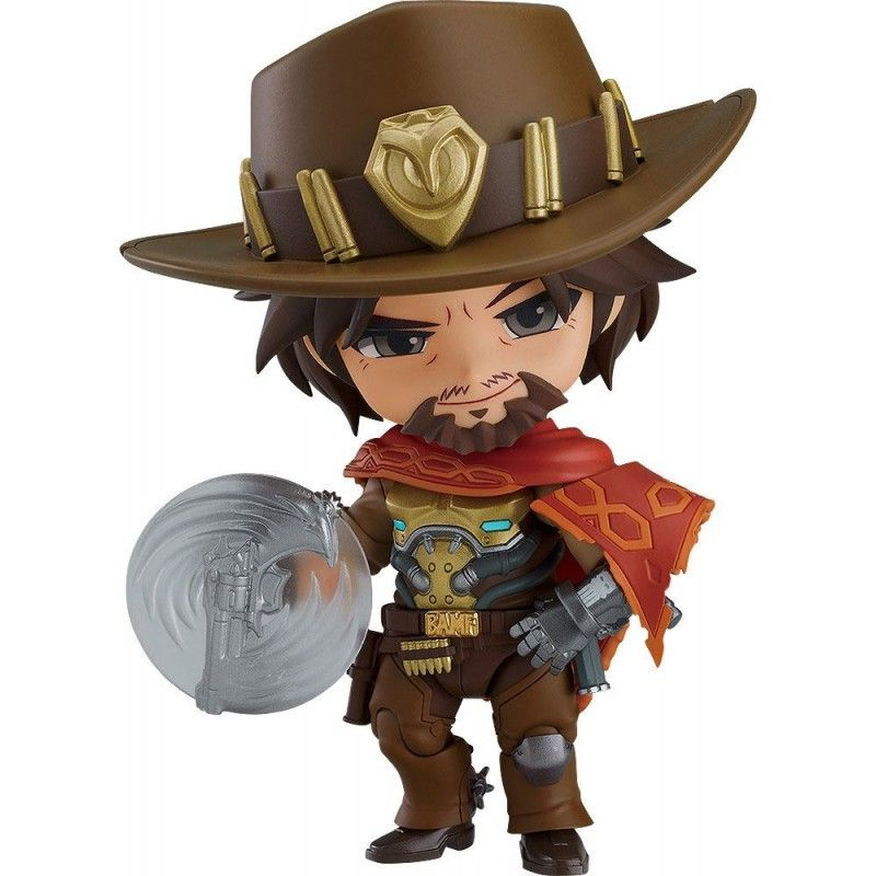 GOOD SMILE COMPANY OVERWATCH MCCREE NENDOROID ACTION FIGURE 10 CM
