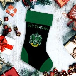 CINEREPLICAS HARRY POTTER SLYTHERIN CHRISTMAS STOCKING CALZA BEFANA SERPEVERDE
