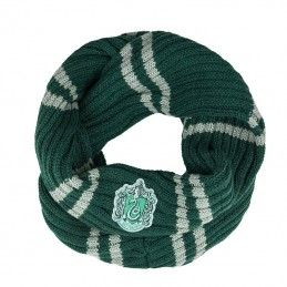 HARRY POTTER SLYTHERIN SERPEVERDE INFINITE SCARF SCIARPA AD ANELLO CINEREPLICAS