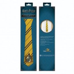 HARRY POTTER HUFFLEPUFF KIDS NECKTIE CRAVATTA BAMBINO CINEREPLICAS
