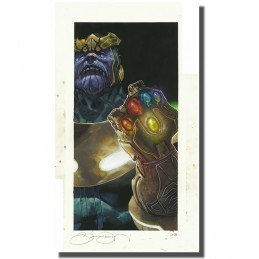 THANOS GAUNTLET LYTHOGRAPHY...