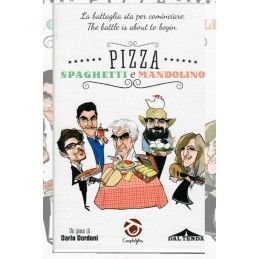 PIZZA SPAGHETTI E MANDOLINO - GIOCO DA TAVOLO ITALIANO COSPLAYOU