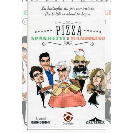 PIZZA SPAGHETTI E MANDOLINO - GIOCO DA TAVOLO ITALIANO