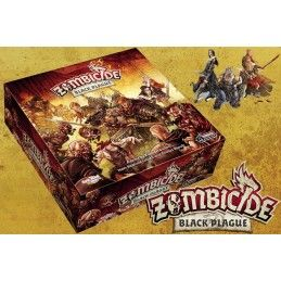 ASTERION ZOMBICIDE BLACK PLAGUE BASE BOARDGAME GIOCO DA TAVOLO ITALIANO