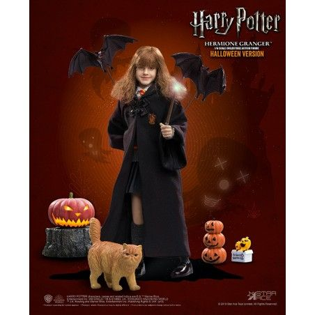 HARRY POTTER - HERMIONE HALLOWEEN 30CM COLLECTIBLE ACTION FIGURE