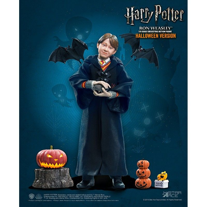 HARRY POTTER - RON HALLOWEEN 30CM COLLECTIBLE ACTION FIGURE STAR ACE