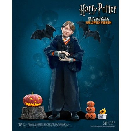 HARRY POTTER - RON HALLOWEEN 30CM COLLECTIBLE ACTION FIGURE