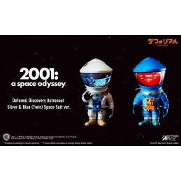 2001 A SPACE ODYSSEY - DEFOREAL DISCOVERY ASTRONAUT SILVER AND BLUE SPACE SUIT ACTION FIGURE STAR ACE