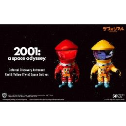 2001 A SPACE ODYSSEY - DEFOREAL DISCOVERY ASTRONAUT RED AND YELLOW SPACE SUIT ACTION FIGURE STAR ACE