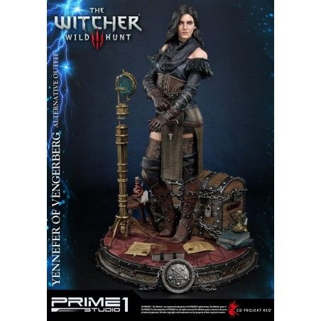 THE WITCHER 3 WILD HUNT - YENNEFER OF VENGERBERG 50 CM ALTERNATIVE OUTFIT STATUE FIGURE