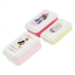 KIKI DELIVERY SERVICE - 3 LUNCH BOXES SET DI 3 PORTAPRANZO BENELIC