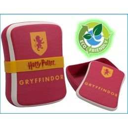 HALF MOON BAY HARRY POTTER GRYFFINDOR BAMBOO SEAL LUNCH BOX PORTAPRANZO IN FIBRA