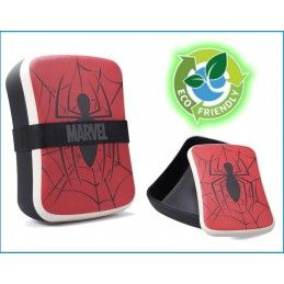 HALF MOON BAY MARVEL SPIDERMAN BAMBOO SEAL LUNCH BOX PORTAPRANZO IN FIBRA
