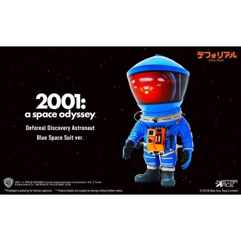 2001 A SPACE ODYSSEY - DEFOREAL DISCOVERY ASTRONAUT BLUE SPACE SUIT ACTION FIGURE STAR ACE
