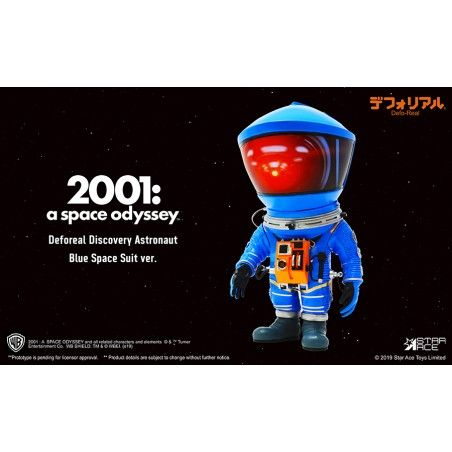 2001 A SPACE ODYSSEY - DEFOREAL DISCOVERY ASTRONAUT BLUE SPACE SUIT ACTION FIGURE