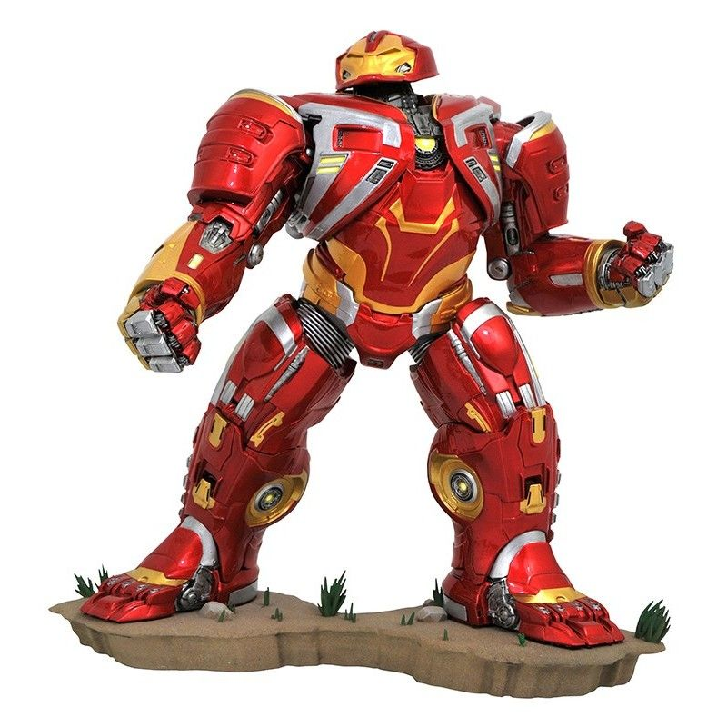 DIAMOND SELECT MARVEL GALLERY - AVENGERS 3 INFINITY WAR HULKBUSTER DELUXE FIGURE