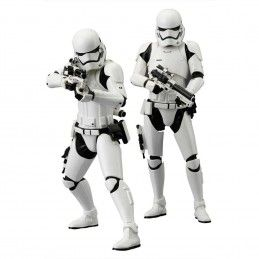 KOTOBUKIYA STAR WARS EPISODE VII FIRST ORDER STORMTROOPER 2 PACK ARTFX + STATUE