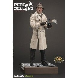 INFINITE STATUE JACQUES CLOUSEAU PETER SELLERS STATUE 32 CM 1/6 OLD AND RARE RESIN FIGURE